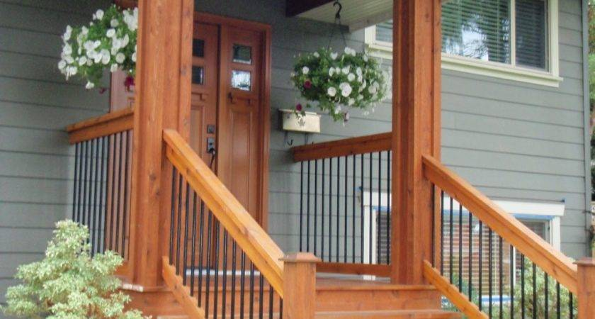 Exterior Wood Stairs Build Outdoor Wooden Steps