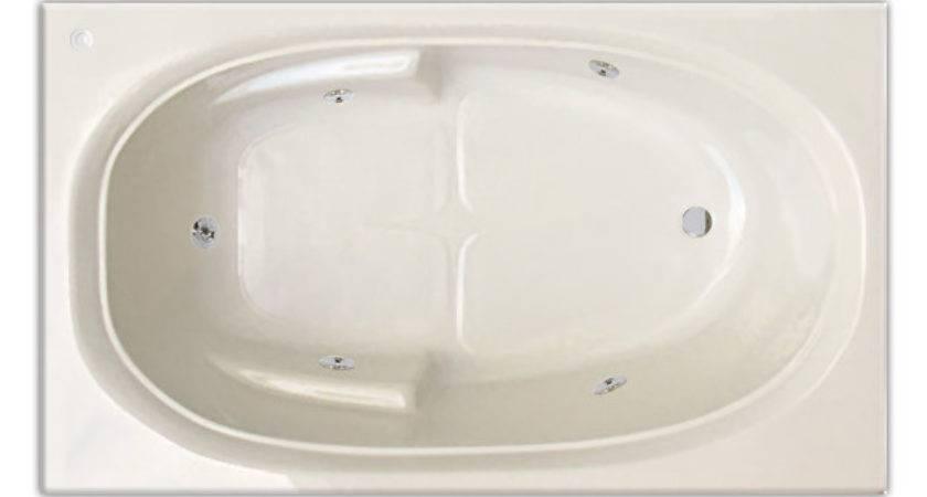 Extra Wide Whirlpool Bathtub Jetted Bath Tub Ebay