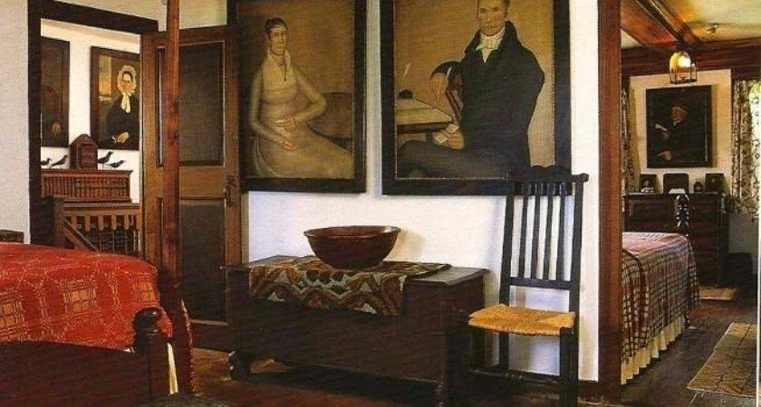 Eye Design Decorating Colonial Primitive Bedrooms