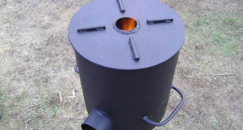 Fabricating Heavy Duty Rocket Stove