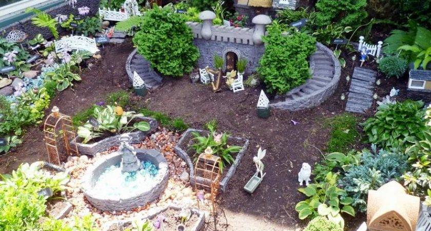 Fabulous Cute Fairy Garden Ideas Home Interior Help
