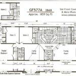 Fair Mobile Home Plans Double Wide Decorating