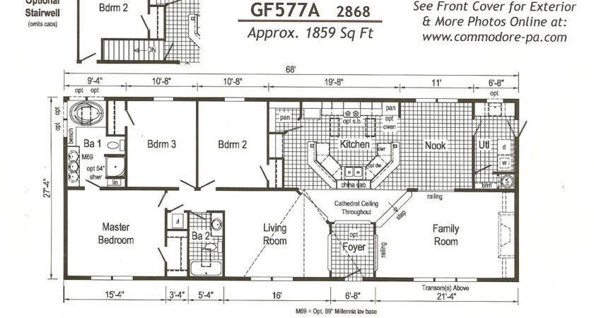 Fair Mobile Home Plans Double Wide Decorating