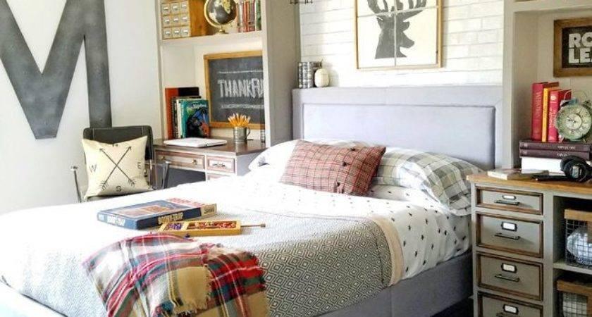 Fall Home Tour Pinterest Teen Boy Rooms Rustic