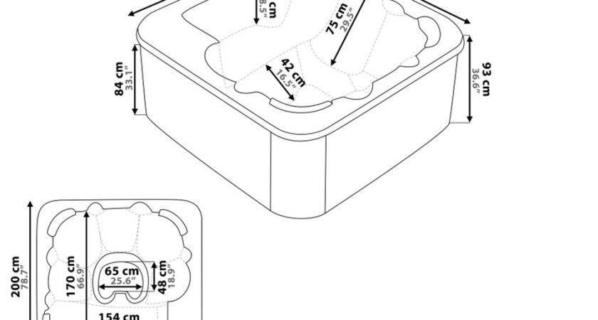 Fantastic Standard Hot Tub Sizes Inspiration