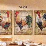 Farm Rooster Metal French Country Style Wall Art Hangings