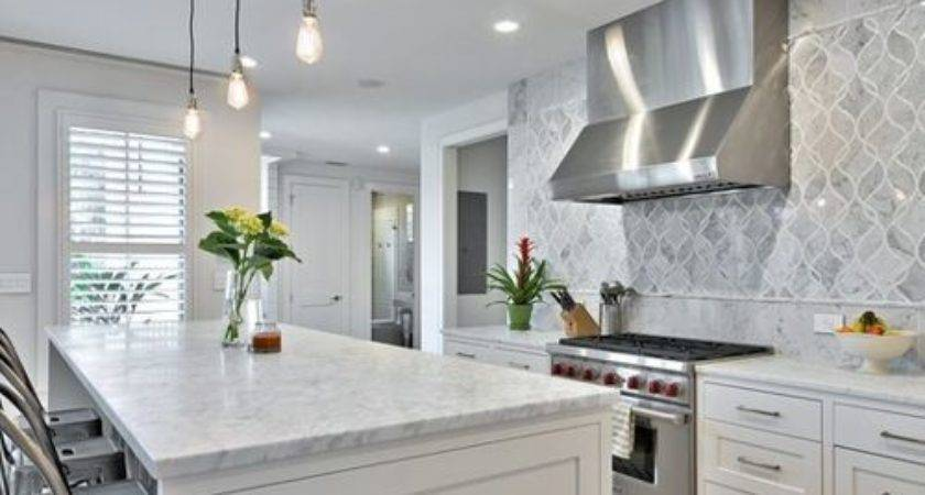 Farmhouse Backsplash Houzz