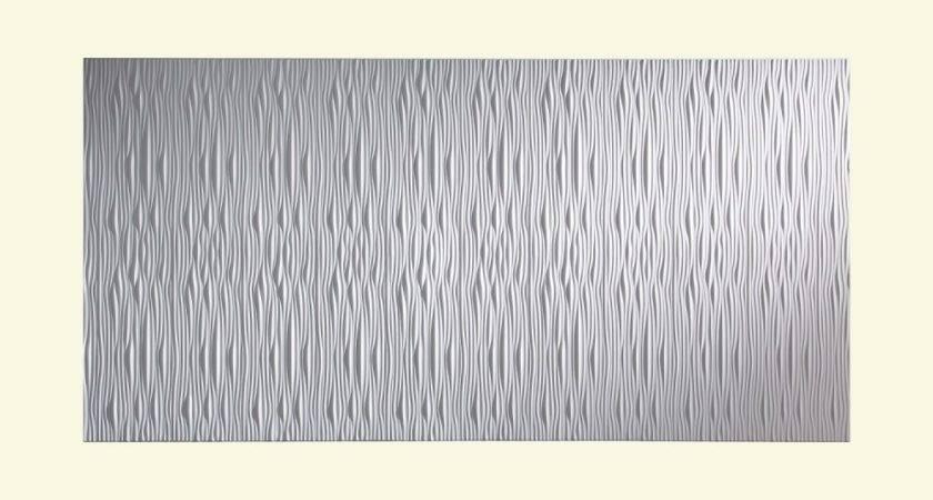 Fasade Decorative Vinyl Matte White Wall Panel Waves