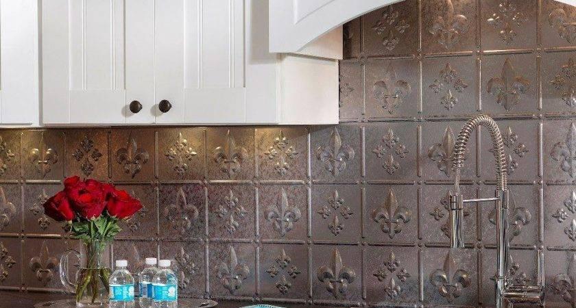 Fasade Fleur Lis Pvc Decorative Tile