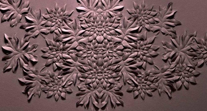 Fascinating Interior Textured Wall Designs