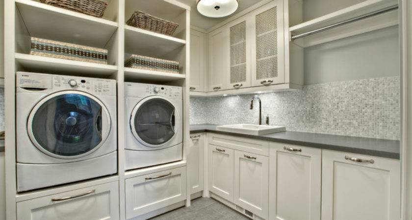 Fascinating Laundry Room Cabinets Ideas Modern Appliances