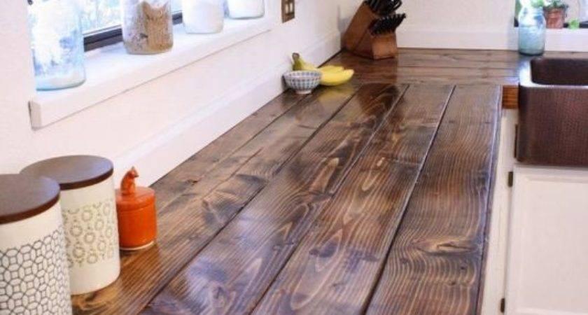 Fascinating Wooden Kitchen Countertop Design Ideas