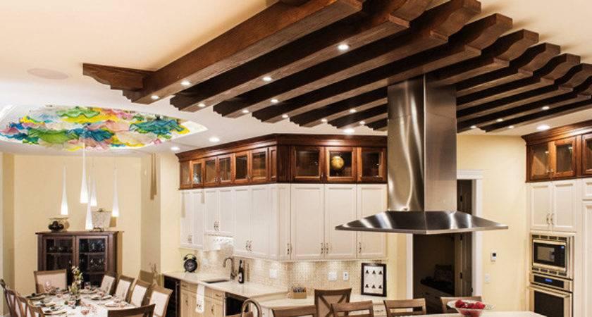 Faux Beams Wood Mantels Ceiling Panels Photos