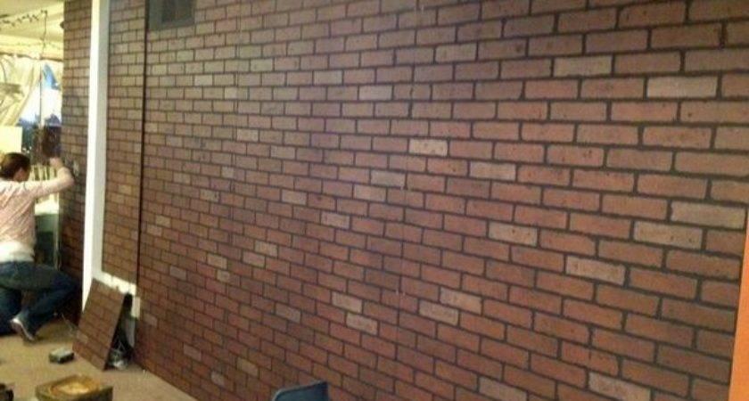Faux Brick Paneling Lowes Hmmmm Home Decor