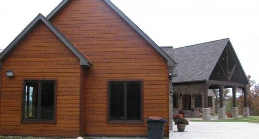 Faux Cedar Siding Log Cabin Pinteres