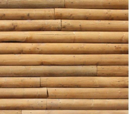 Faux Log Cabin Siding Cut Out Zazzle