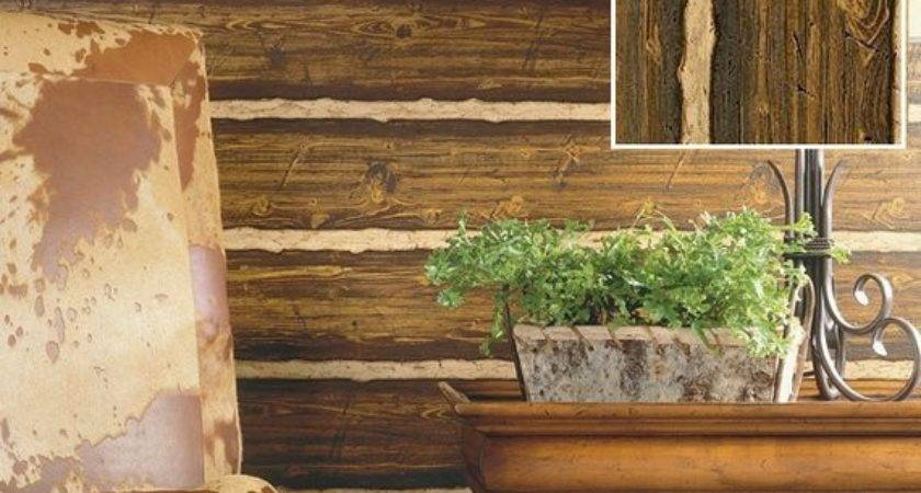 Faux Log Siding Interior Ask Home Design