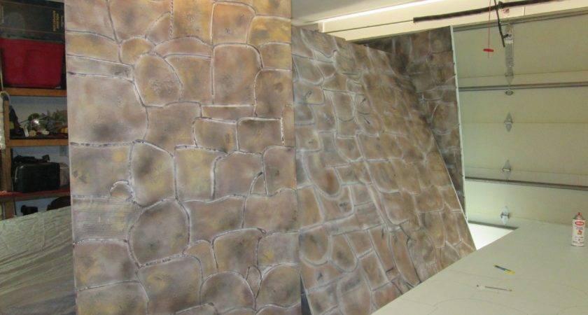 Faux Stone Panels Made Polystyrene Aka Styrofoam