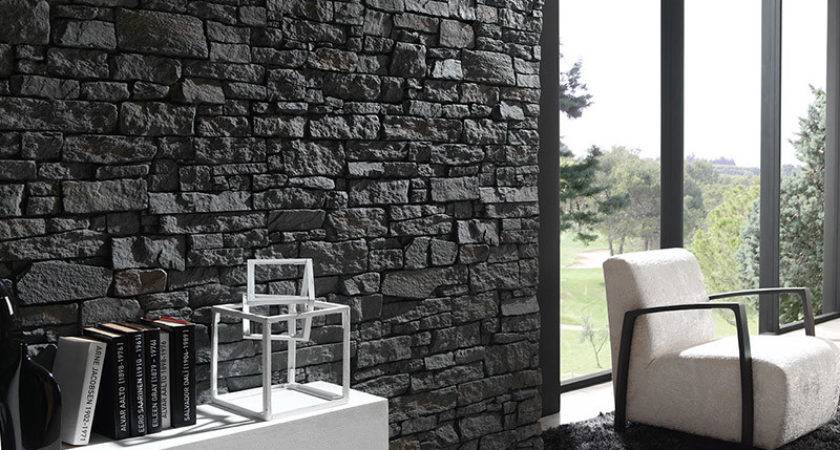 Faux Stone Wall Panel Range Interiors Projects