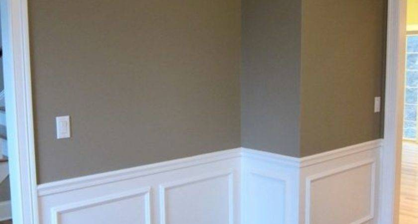Faux Wainscoting Home Design Ideas Remodel