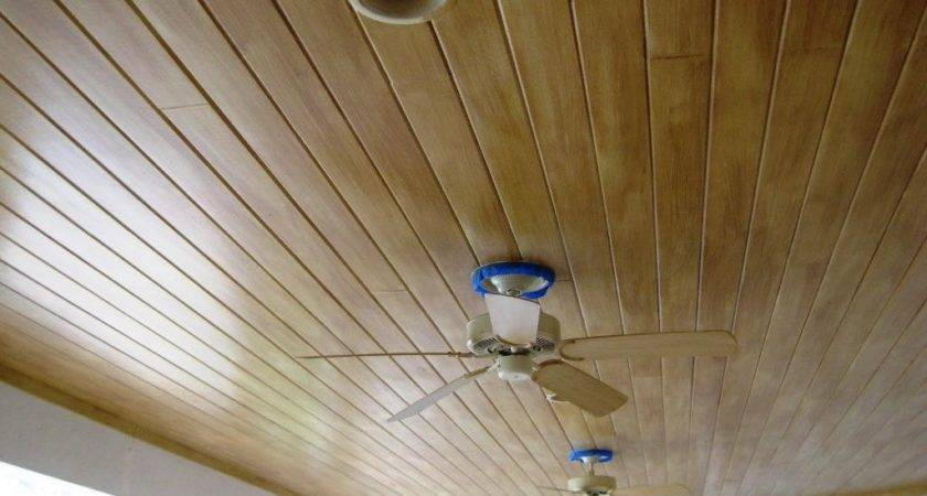 Faux Wood Paneling Ceiling Best House Design