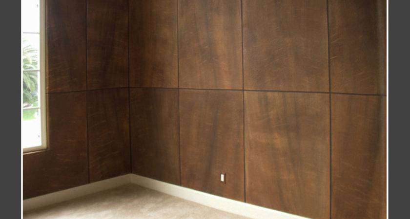 Faux Wood Paneling Massagroup