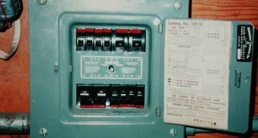 Federal Pacific Fuse Box Recall Efcaviation