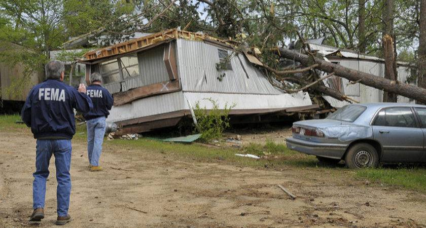 Fema Mobile Home Tornado Photos Queen Ark April