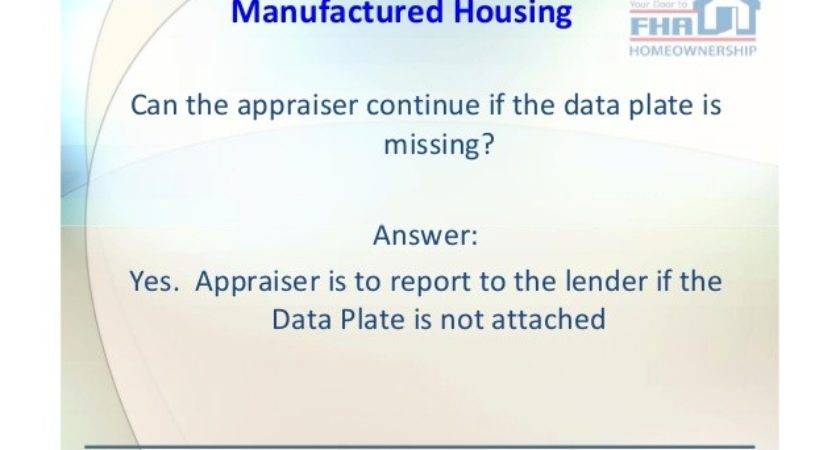 Fha Appraisal Inspection Issues