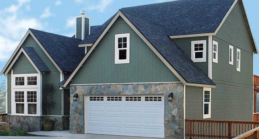 Fiber Cement Siding Wood Exterior Designs