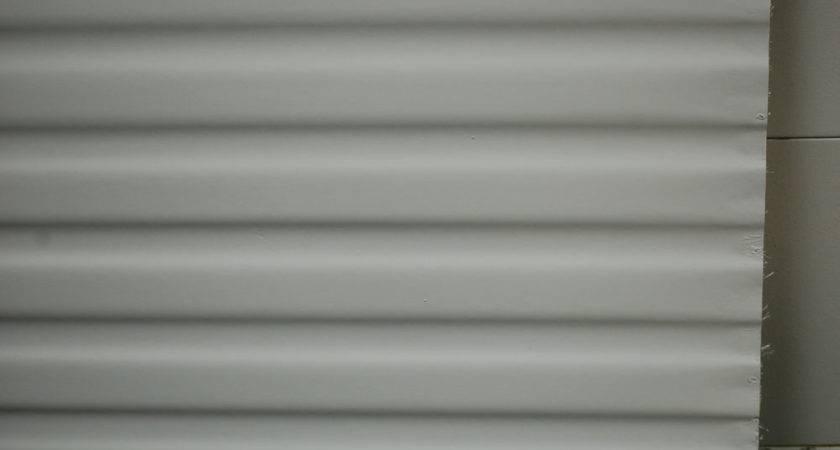 Fiberglass Siding Mesa Pattern White