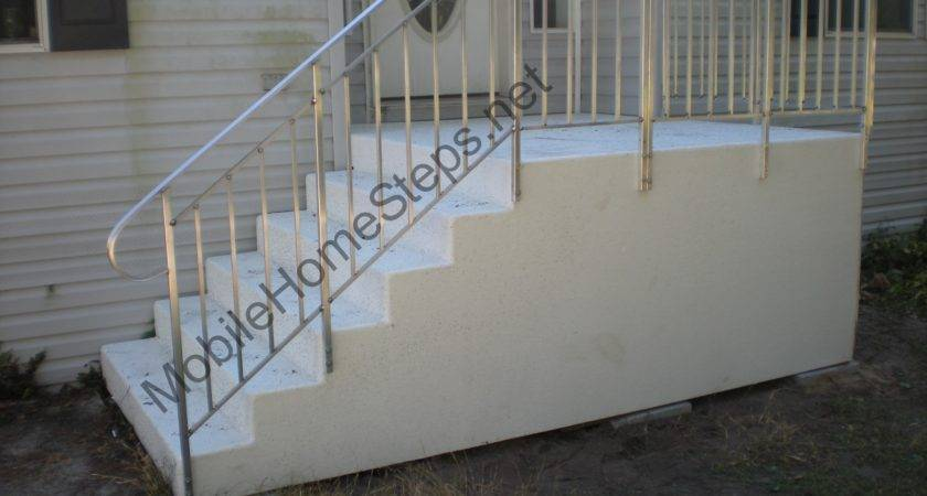 Fiberglass Steps Mobile Home Manufacturing