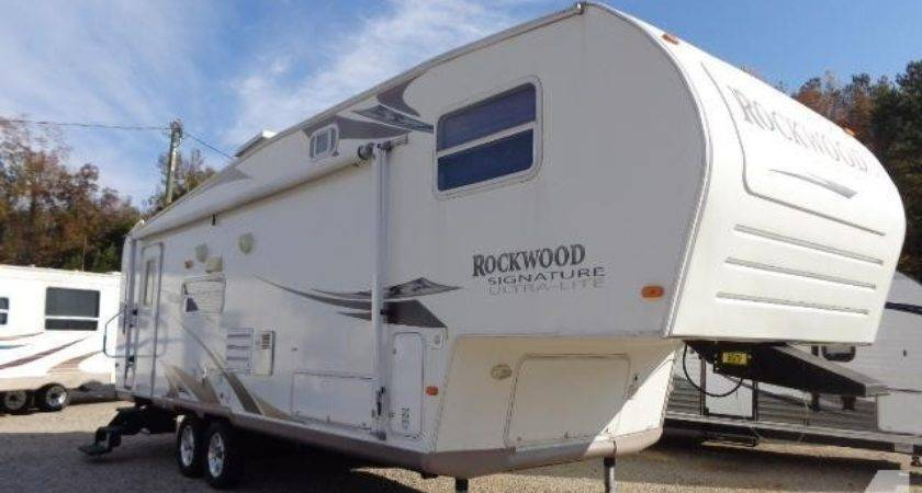 Fifth Wheel Rockwood Forest River Sale Lake