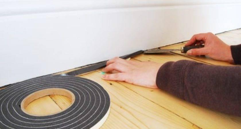 Fill Gap Between Skirting Floor