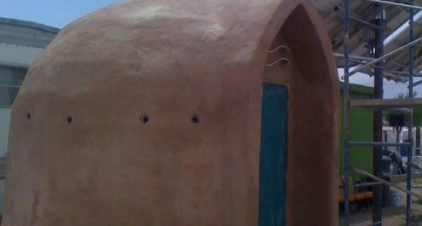 Fin Potpourri Papercrete Dome Project