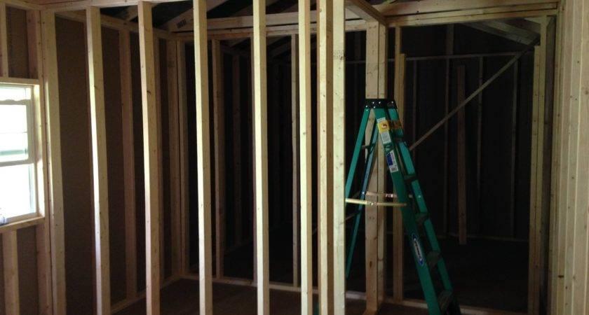 Final Framing Interior Walls Tiny House