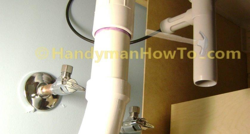 Finish Basement Bathroom Vanity Plumbing