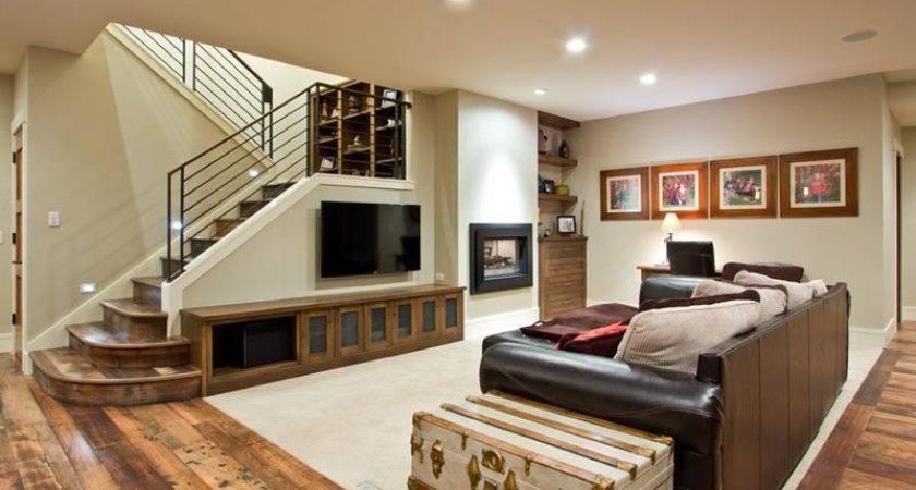 Finished Basements Beautiful Hardwood Floors