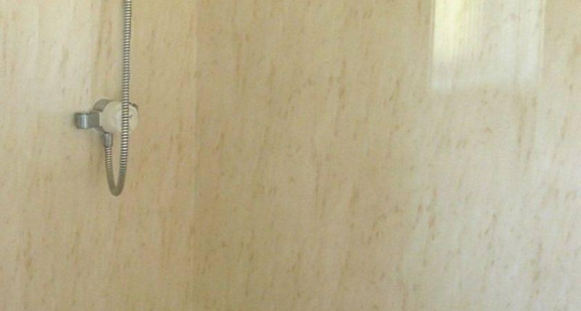Firenze Beige Marble Effect Panels Bathroom Marquee