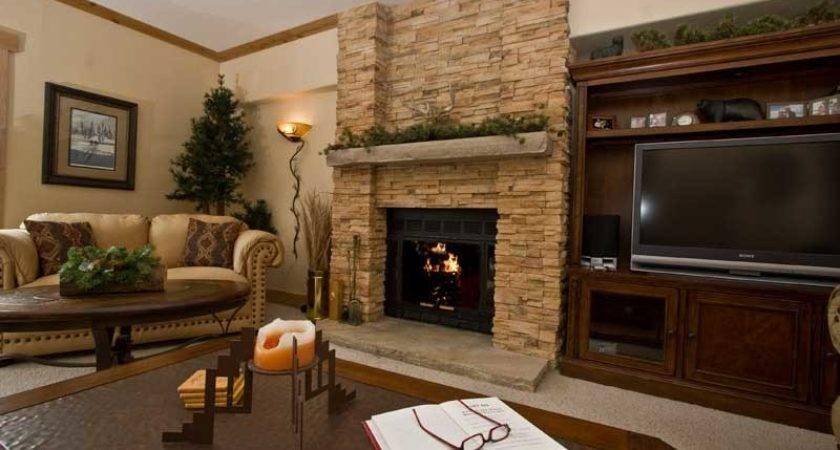 Fireplace Decorating July