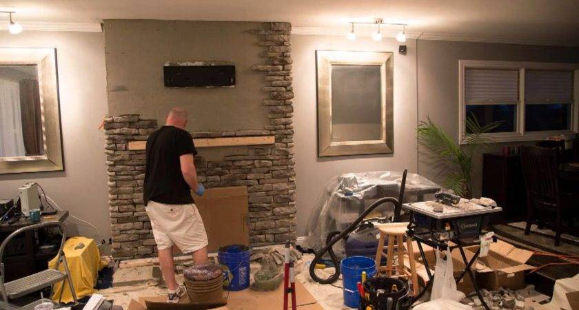 Fireplace Refacing Youtube