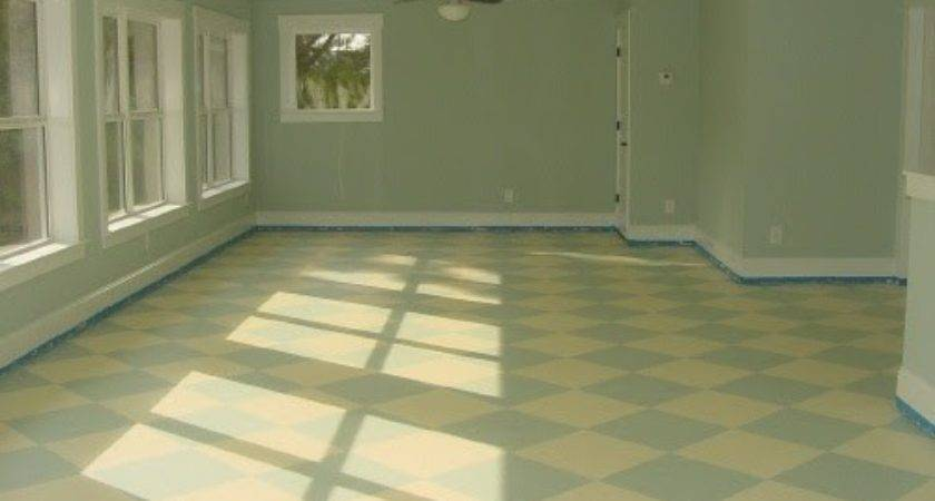 First Dream Painted Sub Floors Over Year Later