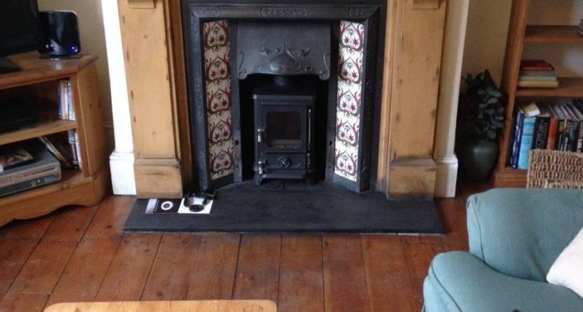 Fitting Log Burner Into Fireplace Ideas Heating