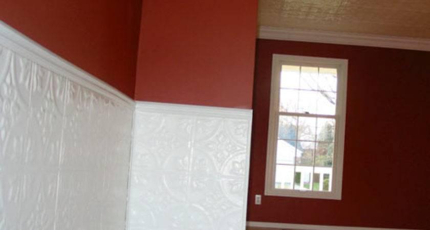Fixer Upper Beadboard Pressed Tin Tiles
