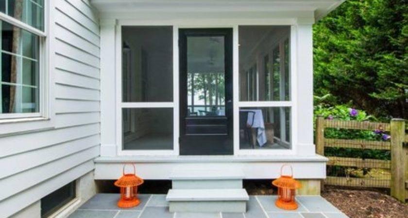 Flat Roof Porch Home Design Ideas Remodel Decor