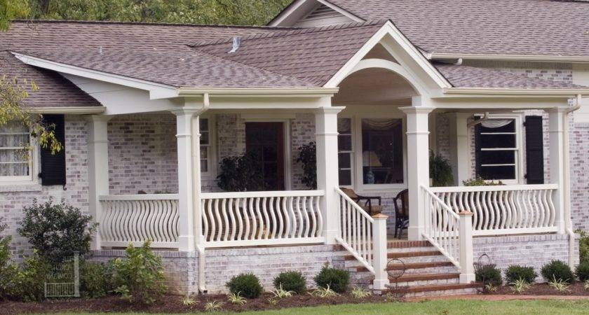 Flat Roof Porches Designs
