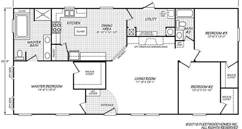 Fleetwood Homes Floor Plans Matttroy