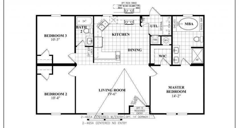 Fleetwood Mobile Home Floor Plan Lovely Manufactured