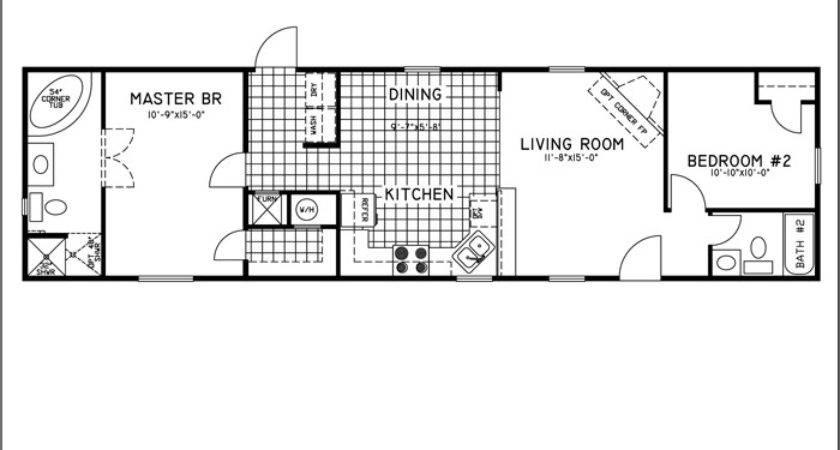 Fleetwood Mobile Home Floor Plans Bestofhouse