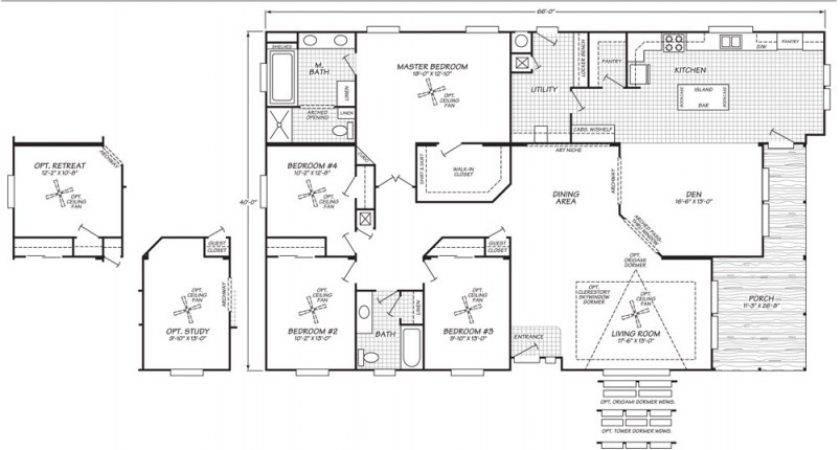 Fleetwood Mobile Home Floor Plans Cavareno